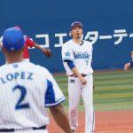 【悲報】DeNA倉本さん、昨日の試合でロペスをブチギレさせていた
