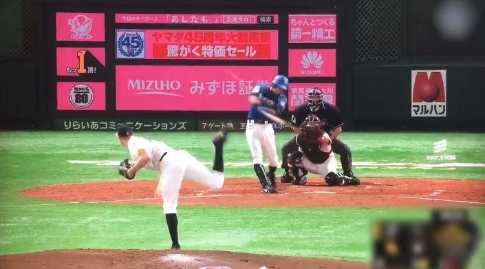 【動画】中島卓也満塁ホームラン