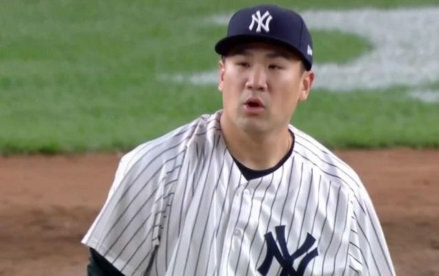 田中将大 8試合 46.1回 ERA4.66